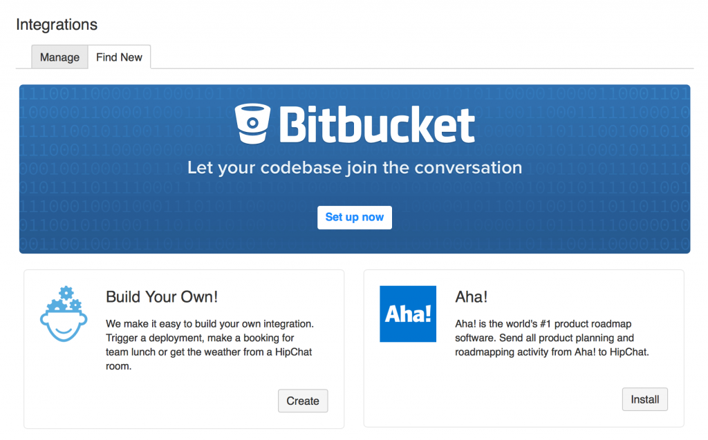 HipChat Build Your Own Integration